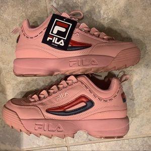 Women Pink Fila